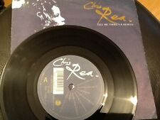 CHRIS REA . TELL ME THERE'S A HEAVEN . 1989 . NR MINT