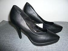 H&M DIVIDED - Plateau Pumps - Stilettos - High Heels, Gr. 38, schwarz, NEU***