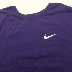 Nike Men's Classic-Fit T Shirt Color Purple size XL