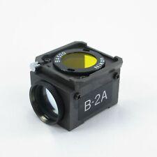 NIKON B-2A DM510 FLUORESCENCE FILTER REFLECTOR CUBE