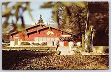 Italian Swiss Colony Wine Tasting Room Asti, California Chrome Postcard Unused