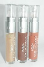 Loreal L'Oreal Bare Naturale Gentle Lip Gloss Lot 3 Peach Shell Spice