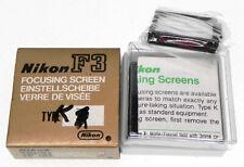 Nikon K Focusing Screen for F3   .......... LN
