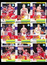 1995 Uncle Tobys All Star Slam Australian Basketball set 20 Pop Out cereal cards
