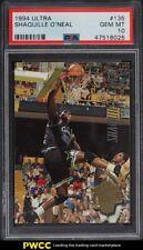 1994 Ultra Basketball Shaquille O'Neal #135 PSA 10 GEM MINT
