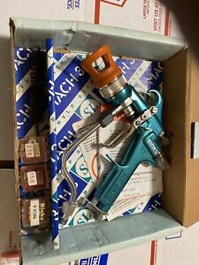 BINKS- MACH 3SL air assisted airless Paint spray gun with assories!