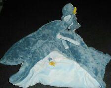 Doudou Dragon Couverture Bleue Etoiles Victor et Lucien Noukies Noukie's TBE