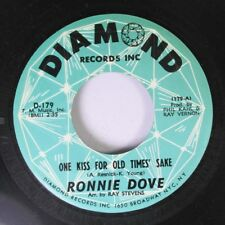 Rock 45 Ronnie Dove - One Kiss For Old Times' Sake / Bluebird On Diamond Records
