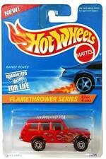 1996 Hot Wheels #386 Flamethrower series #3 Range Rover with hw logo on fender