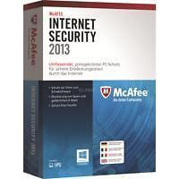 McAfee Antivirus- & Sicherheits-Softwares als E-Mail