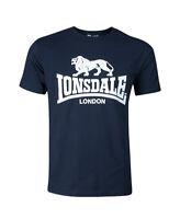 "LONSDALE LONDON T-Shirt ""Logo"" | Navy Blue (119083) Herren blau Londsdale 3008"