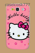 for samsung i9300 galaxy S3 S III s3 siii  hard case pink hot pink
