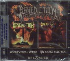 BENEDICTION SUBCONSCIOUS TERROR + THE GRAND LEVELLER RELOADED EDITION 2 CD SET