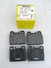 New TEXTAR 0014207320 REAR WHEEL BRAKE PADS for MERCEDEZ BENZ  1986-1991