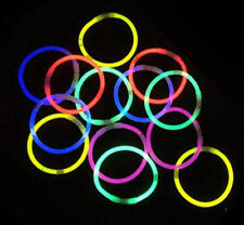 """200 8"""" GLOW STICKS w/ CONNECTORS! FAST FREE US SHIP - PARTY RAVE EDM NIGHT"""