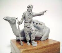 1/35 Resin Desert Soldier W/Camel Unassembled Unpainted BL730