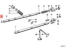 Genuine BMW E12 E21 E23 E24 E28 E3 E9 Oil Sump Pan Drain Plug OEM 11331274923