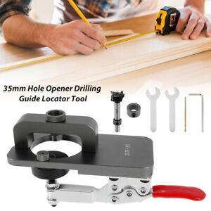 35mm Concealed Hinge Drilling Jig Hole Set, for Wood Furniture Door Cabinets