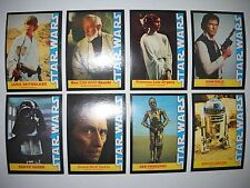 1977 STAR WARS COMPLETE(16) CARD SET WONDER BREAD *MINT*