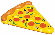 Swimline Giant Inflatable Pizza Slice Float Raft For The Lake/Beach/Pool | 90645