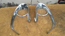 HOT ROD PARTS  LINCOLN  1960 - 1959 HEADLIGHT FENDER INSERTS MOLDINGS