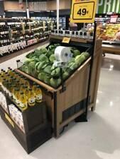 Jsi Store Fixtures Refrigerated Produce Merchandiser *Great Deal*