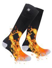 Men Women Heated Socks Battery Sock For Cold Feet Thermal Socks For Camping Lrg