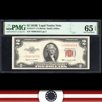 GEM 1953-B $2 LEGAL TENDER NOTE PMG 65 EPQ Fr 1511*   *03061655A