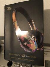 Monster Diamond Tears JYP Edge On-Ear Headphones limitededition Gold