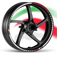 kit Adesivi moto APRILIA DORSODURO strisce RACING9 cerchi ruote stickers label