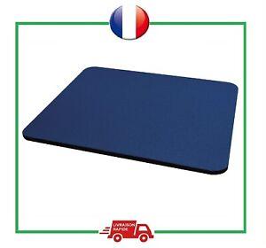 Tapis De Souris Anti-Dérapant 5 mm Ergonomique Bleu Ordinateur 22,4 x 18,6 cm
