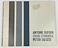 Antoine Dufour - Craig D'andrea - Peter Ciluzzi CANADA Live DVD