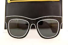 Brand New BALENCIAGA Sunglasses BA 0009 04N Black White/Gray Green For Women
