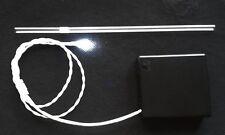 CAK 613 Cake Decoración 5mm Blanco Diff LED Luz en la Caja de Batería de plomo 500mm y 4AA