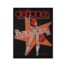 Deftones The Back To School Tour Patch Mini Maggit Jacket Woven Sew On Applique