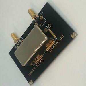 10 MHZ CRYSTAL Filter - 1 KHZ BW @ -3dB - 10 KHZ @ -60 dB - 50 OHM I/O - SV1AFN