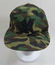 NY New York Fitted Baseball Hat Cap  7-1/4  CAMOUFLAGE New Era