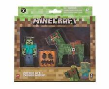 Minecraft ~ Zombie & Zombie Horse Figure Pack