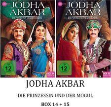 Jodha Akbar - Die Prinzessin und der Mogul - Box 14 + 15, 2x3 DVD NEU + OVP!