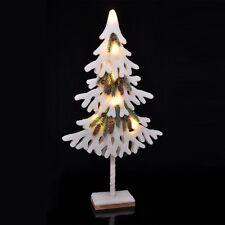 Künstlicher Weihnachtsbaum mit LED Beleuchtung 6 warm-weiße LEDs Höhe ca. 80 cm