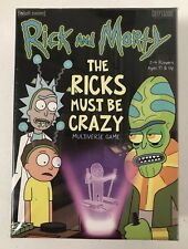 The Ricks Must Be Crazy Multiverse Complete Game [Adult Swim] Rick & Morty NIB