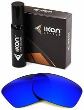 Polarized IKON Iridium Replacement Lens For Oakley Jupiter Squared LX Deep Blue