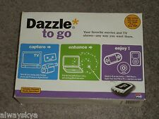 Pinnacle Dazzle To Go External USB2 Tv Tuner - Camcorder Video to PC