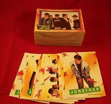 NEW KIDS ON THE BLOCK  - Trading Card Complete Set with Stickers
