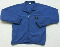 Cannondale Blue Full Zipper Cycling Jacket Men's Size Medium Micro Supplex USA