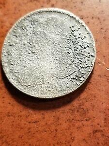 1831 Capped Bust Silver Half Dollar, cull     INV08     HL8157