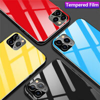 Tempered Glass Back Cover Film Screen Protector Skins For iPhone 11 Pro XS X Max