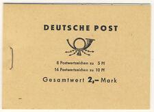 DDR MH 4 c 2.1 ** postfrisch