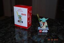 2013 Hallmark Star Wars Yoda LEGO Series Christmas Tree Keepsake Ornament