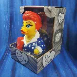 I Love Ducky CelebriDuck Rubber Duck Lucille Lucy Ball Fans NIB NEW!